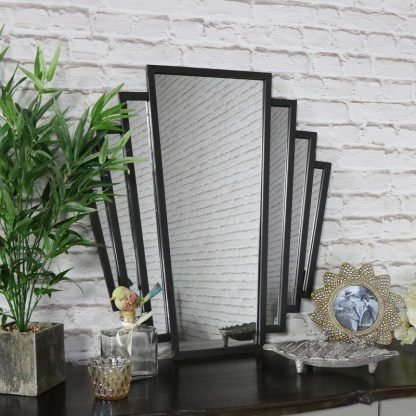 Fan Style Wall Mirror from www.melodymaison.co.uk